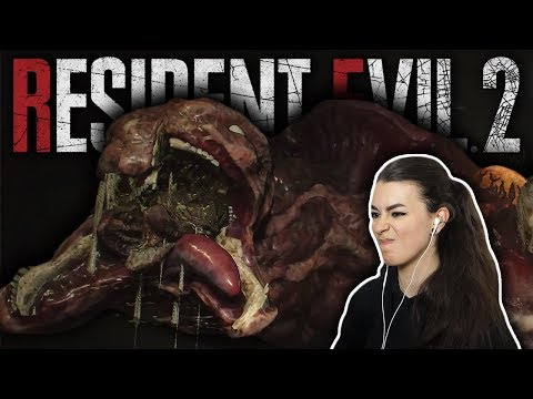 INTO THE SPOOKY SEWERS... | Resident Evil 2 Remake Gameplay | Claire B | Part 6