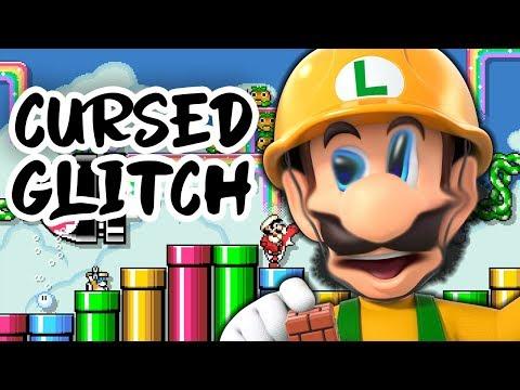 Cursed Glitch In Super Mario Maker 2