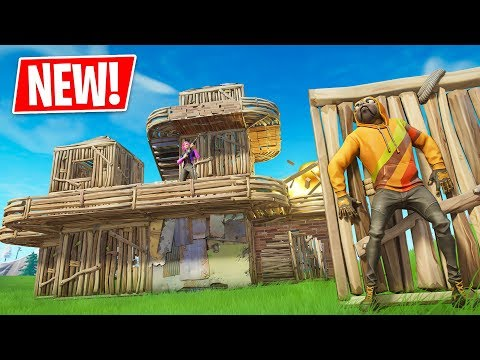 NEW Builder's Paradise LTM in Fortnite Battle Royale!! (EDIT EVERYTHING)
