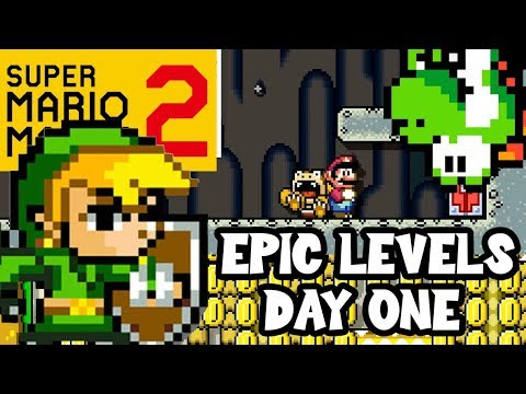 Super Mario Maker 2: EPIC LEVELS FOR DAY ONE!