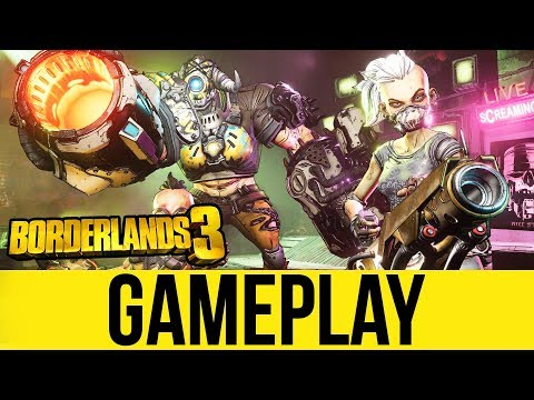 BORDERLANDS 3 Exclusive Early Gameplay