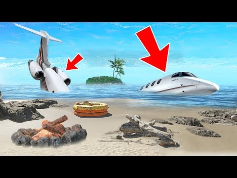 SURVIVE A PLANE CRASH!! (Stranded Deep)