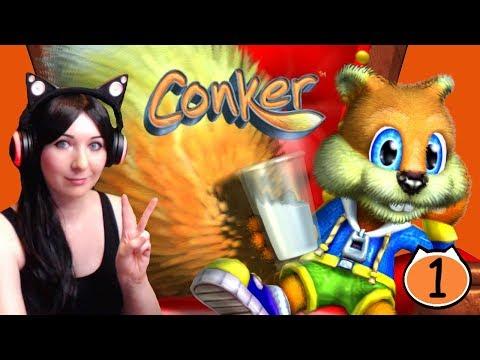 A Bad Fur Day Begins - Conker Live & Reloaded Gameplay Walkthrough Part 1