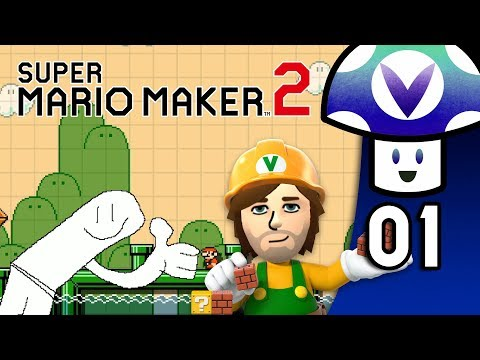 [Vinesauce] Vinny - Super Mario Maker 2 (PART 1)