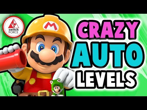 Super Mario Maker 2 - Most AMAZING Auto Levels!