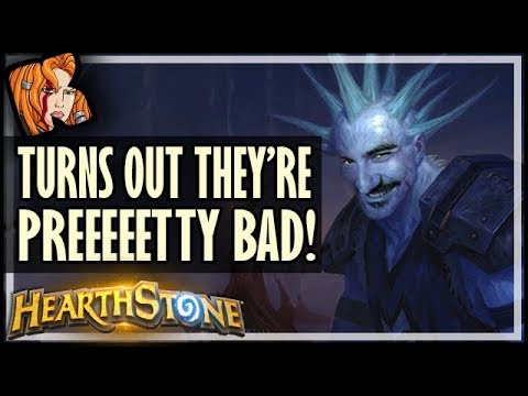 10 Classic Cards Kripp Thought Were OP (But Actually Suck) - Rise of Shadows Hearthstone