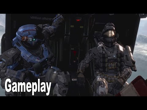 Halo Reach - Tip of the Spear PC Gameplay No Commentary [4K 2160P/60FPS]