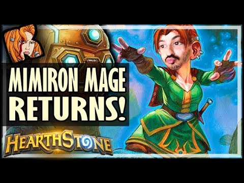 MIMIRON MAGE RETURNS! - Rise of Shadows Hearthstone