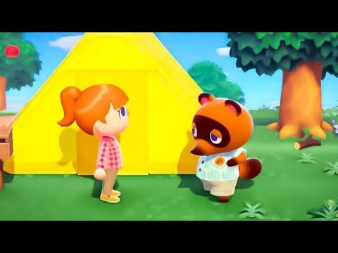 Animal Crossing: New Horizons - First Gameplay   (Nintendo Switch)