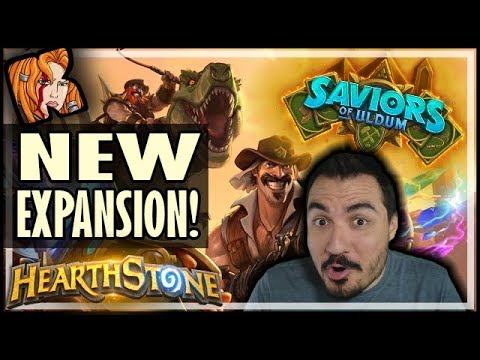 SAVIORS OF ULDUM IS THE NEXT HEARTHSTONE EXPANSION!