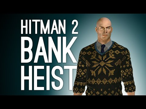 Hitman 2 New York: BANK HEIST! (Let's Play Hitman 2)