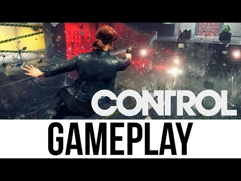 CONTROL Gameplay & First Impressions