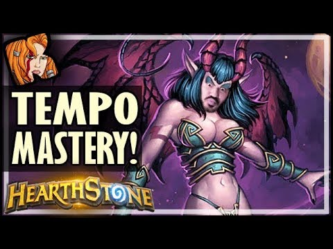 TEMPO MASTERY COMPLETE! - Rise of Shadows Hearthstone