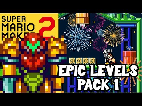 Super Mario Maker 2: EPIC LEVELS PACK #1 (Mario Maker 2 Best Levels)