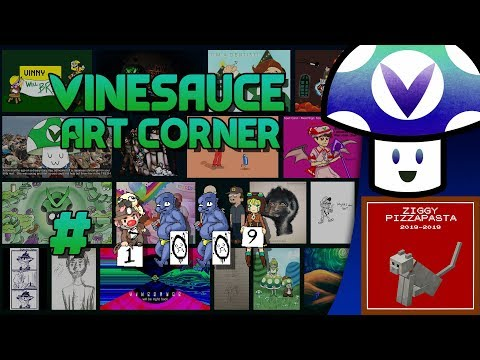 [Vinebooru] Vinny - Vinesauce Art Corner #1009