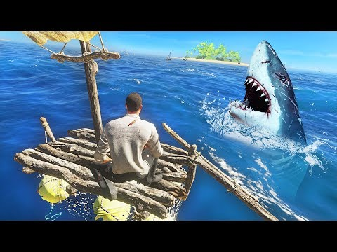 BUILDING A RAFT!! (Stranded Deep)