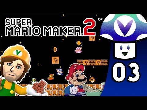 [Vinesauce] Vinny - Super Mario Maker 2 (PART 3)