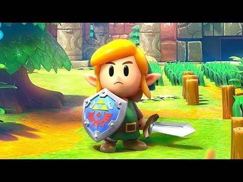 The Legend of Zelda: Link's Awakening -- Gameplay  Demo 2019  (Nintendo Switch)