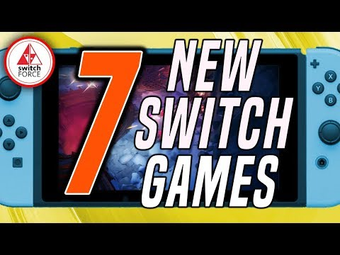 7 NEW Switch Games Just Announced! (New Nintendo Switch Games July 2019)