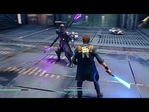 Star Wars: Jedi Fallen Order - 40 Minutes of Gameplay Demo (PS4, XBOX ONE, PC)