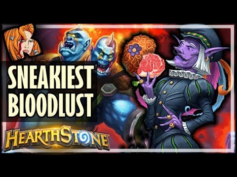 #1 SNEAKIEST BLOODLUST OF ALL TIME - Hearthstone