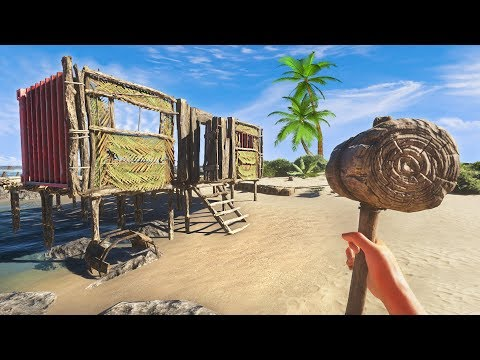 BUILDING A HOUSE!! (Stranded Deep)