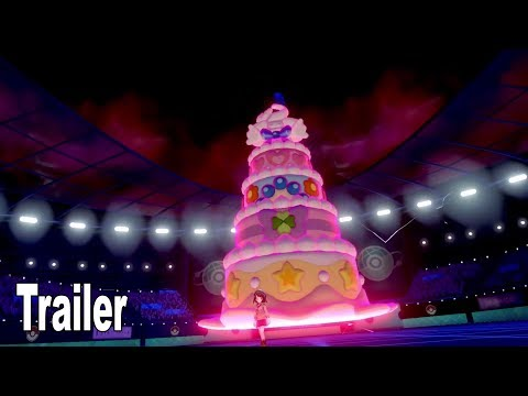 Pokémon Sword and Pokémon Shield - Gigantamaxing Trailer [HD 1080P]