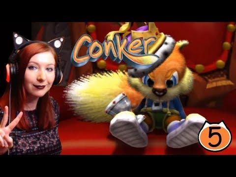 RAGE & ALIENS  - Conker Live & Reloaded ENDING Gameplay Walkthrough Part 5