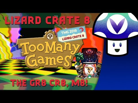[Vinesauce] Vinny - Lizard Crate #8: Too Many Games 2019 Edition