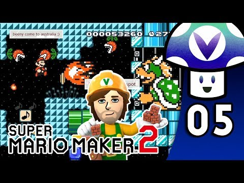 [Vinesauce] Vinny - Super Mario Maker 2 (PART 5)