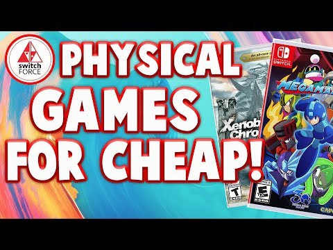 Big Nintendo Switch Sale for Physical Switch Games!