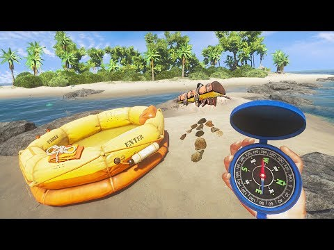 Exploring HIDDEN ISLANDS for TREASURE!! (Stranded Deep)