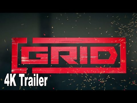 GRID - Race for Glory Trailer [4K 2160P/60FPS]