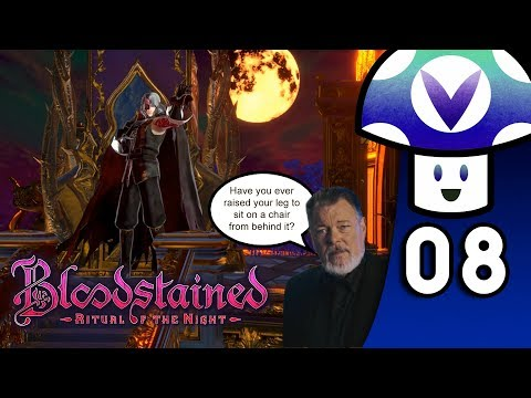 [Vinesauce] Vinny - Bloodstained: Ritual of the Night (PART 8)