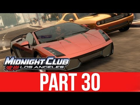MIDNIGHT CLUB LOS ANGELES XBOX ONE Gameplay Walkthrough Part 30 - GOING FAST IN A LAMBO