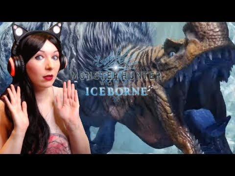 OMG Anjanath and Odogaron subspecies! ! - Monster Hunter World: Iceborne -  Trailer REACTION VIDEO