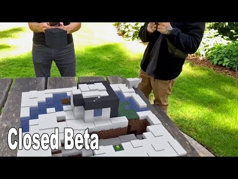 Minecraft Earth - Closed Beta Reveal Trailer [HD 1080P]