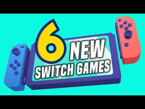 6 EXCITING NEW Switch Games Just Announced! (New Nintendo Switch Games July 2019)