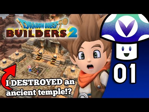 [Vinesauce] Vinny - Dragon Quest Builders 2 (PART 1)
