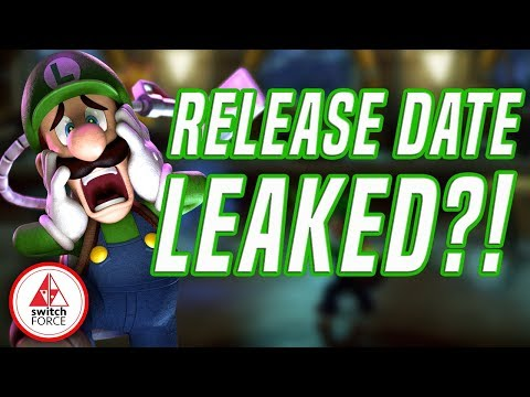 Luigi's Mansion 3 LEAKED Switch Release Date From Amazon!?