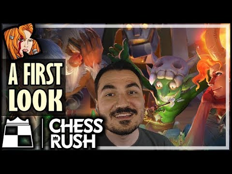 Chess Rush! New Auto Battler Game! A First Look