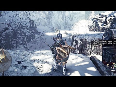 MONSTER HUNTER WORLD: ICEBORNE - Banbaro Gameplay Demo