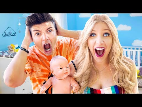 PrestonPlayz and I Had a BABY for 24 Hours! - Challenge