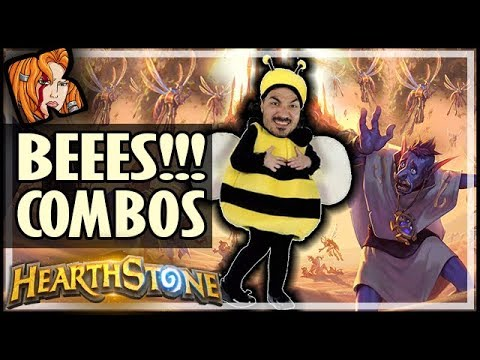 BEEES WORKS WITH OVERKILL?! Top BEEES Combos! - Saviors of Uldum Hearthstone