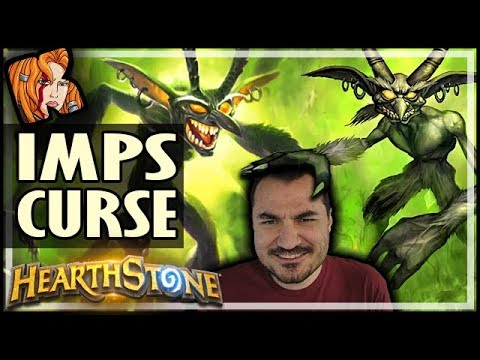 THE IMPS HAVE CURSED ME! - Hearthstone Arena