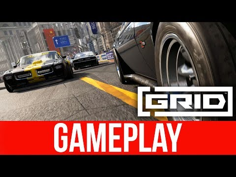 GRID 2019 EXCLUSIVE LIVE Gameplay - MUSCLE CARS
