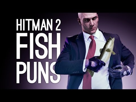 Hitman 2 Escalation: FISH PUNS! (Let's Play The Aquatic Retribution Escalation)