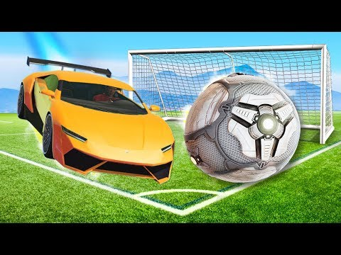 Playing ROCKET LEAGUE in GTA 5!!