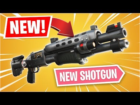New LEGENDARY TACTICAL SHOTGUN Gameplay Update! (Fortnite Battle Royale)