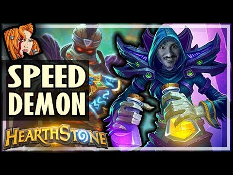 RAFAAM Is Your New Speed Demon - Saviors of Uldum Card Brawl - Hearthstone